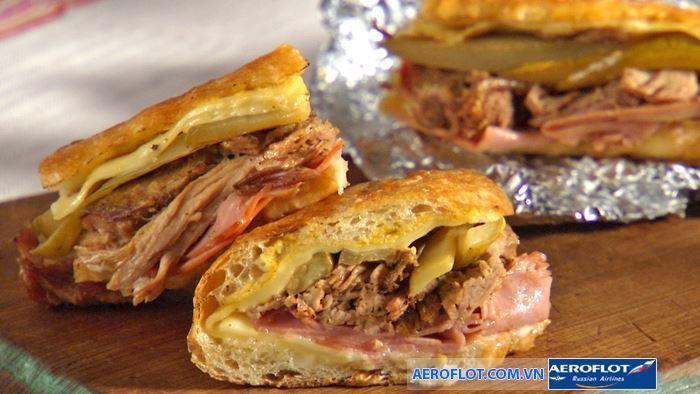 Cuba Sandwich là một món ăn truyền thống của Cuba