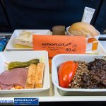 Suất ăn trên máy bay Aeroflot