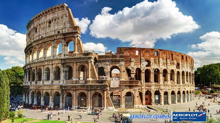 Đấu trường La Mã công trình cổ đại nổi tiếng