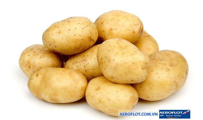 Khoai tây là thực phẩm bị cấm tránh lây lan vi khuẩn