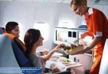 Nước giải khát và đồ ăn nhẹ phục vụ cho hành khách
