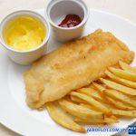 Fish and chips món ăn gây thích thú với mọi du khách