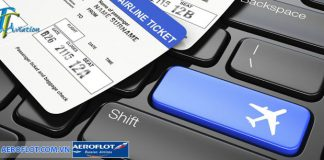 Check in trực tuyến của Aeroflot