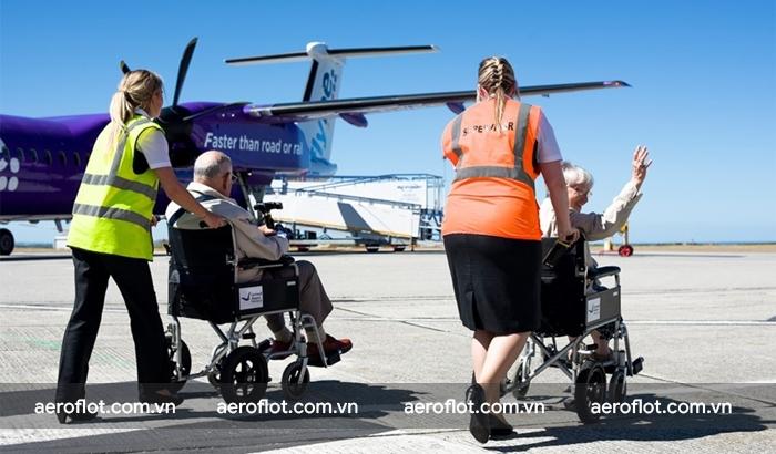 Các dịch vụ mà Aeroflot  hỗ trợ người khuyết tật