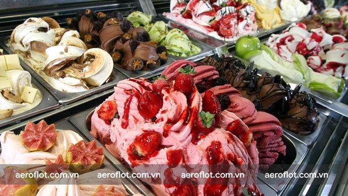 Đừng quên thưởng thức kem Gelato