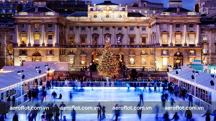 Trượt băng tại Somerset House