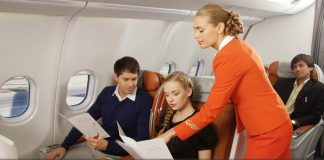 Suất ăn đặc biệt trên chuyến bay của Aeroflot