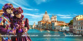 Hòa mình vào lễ hội hóa trang lớn nhất nước Ý