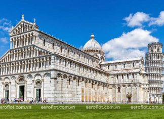 Tháp nghiêng Pisa – công trình kiến biểu tượng của Italia