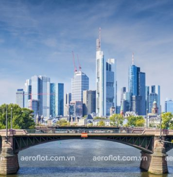 Khám phá Frankfurt thành phố giàu nhất nước Đức